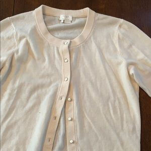 Kate spade ivory button up cardigan